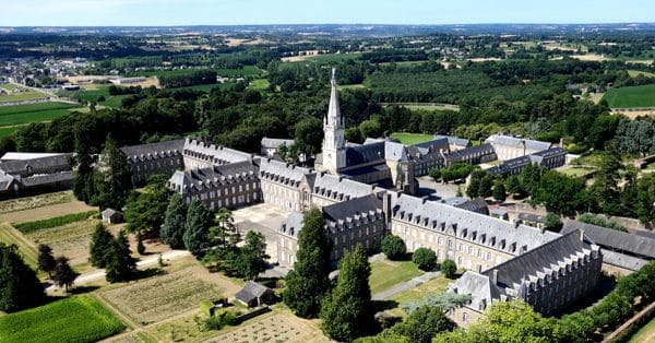 Vue aérienne de la Tour St Joseph