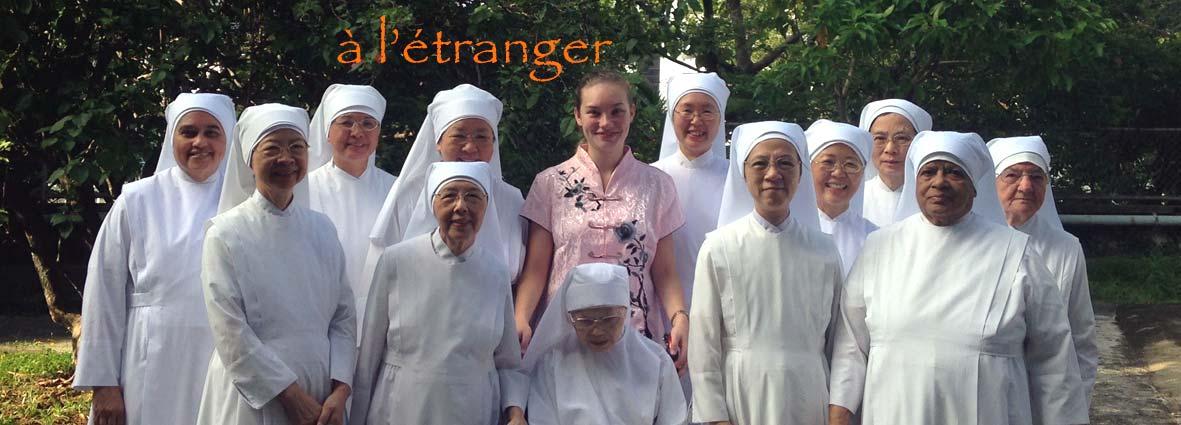 jeune fille avec la communauté d'Aberdeen à HongKong