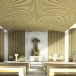 Reconstruction de ma Maison des Petites Sœurs des Pauvres de Lyon Croix-Rousse: future chapelle