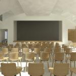 Reconstruction de ma Maison des Petites Sœurs des Pauvres de Lyon Croix-Rousse: la future salle polyvalente