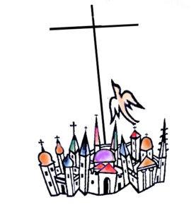 Unité des chrétiens logo