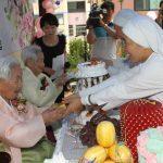 Petites Soeurs et personnes âgées en Corée